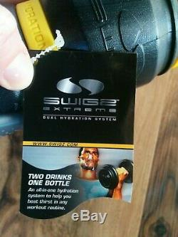 NEW Swigz Balance Dual Hydration System Two Drinks In One Bottle