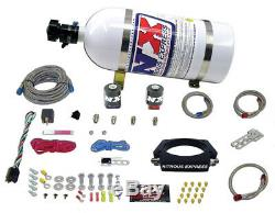 NITROUS EXPRESS 20934-10 LS 90mm PLATE SYSTEM (50-400HP) With 10LB BOTTLE