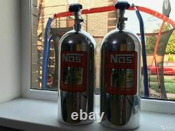 NITROUS OXIDE SYSTEMS NOS Bottle Polished P/N 14745-PNOS