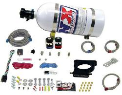 NITROUSNX 20935-10 Nitrous Oxide System LS Plate Wet WOT Switch Bottle Cadillac