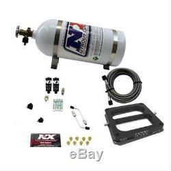 NITROUSNX 40070-10 Nitrous System 10 lb Bottle Hitman Dominator 100-150-200 HP K