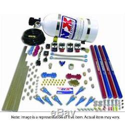 NITROUSNX 90206-15 Nitrous System 15 lb Bottle Pro-Shk/Gas Kit 200-300-400-500-6