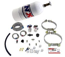 NITROUSNX ML2000 Nitrous Oxide System MainLine Wet 50-150 hp 10 lb. Bottle White