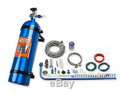 NOS Diesel Nitrous System With 15LBS Blue Bottle Powerstroke Duramax Cummins