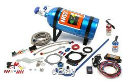 NOS Plate Wet Nitrous System For 2010-15 Camaro LS3 with 10lb Bottle