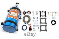 NOS Powershot Nitrous System For Holley 4150 & Carter AFB 125HP With 10 LB Bottle
