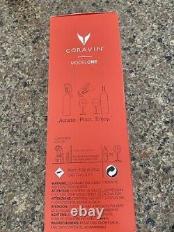 New Coravin Model One Wine Bottle Opener & Preservation System