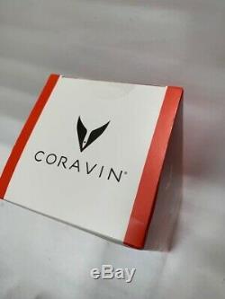 New Coravin Wine Bottle Opener Pourer Preservation System Model One 1 White