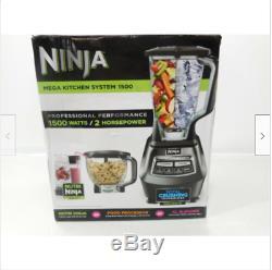 Ninja BL770 Mega Kitchen System 1500 Blender Processor Crushing Nutri Ninja