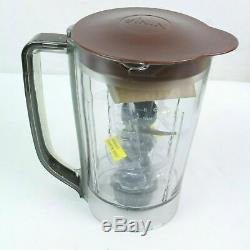 Ninja Kitchen System Pulse 700w 48oz Blender BROWN Chocolate BL207 Complete