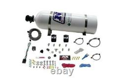 Nitrous Express All Sport Compact EFI Single Nozzle Nitrous System 15lb Bottle