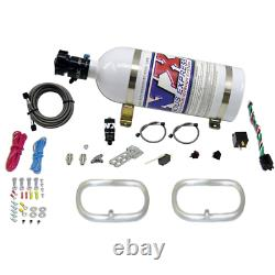 Nitrous Express Dual Ntercooler Ring System (2 6 x 6 Rings) with10lb Bottle 222