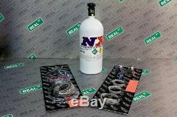 Nitrous Express GM EFI Single Nozzle System Kit 35-150 shot WITH 10LB Bottle
