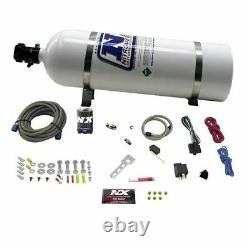 Nitrous Express NX-NXD12001 Nitrous System, Diesel Stacker 3 With 15Lb Bottle