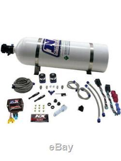Nitrous Express Nitrous Oxide System SX2D Wet Dual Stage 15 lb Bottle (NXD4000)