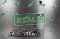 Nitrous Express Proton Plus 35-150HP Nitrous Kit System w 15LB Bottle
