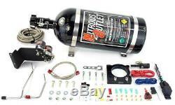 Nitrous Outlet 2011-2014 3.7L V6 Mustang Hard Line Plate System (10LB Bottle)
