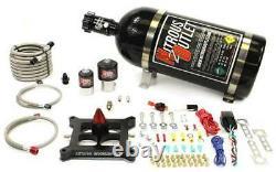 Nitrous Outlet 4150 GENIII Race Stinger Plate System (10lb Bottle)