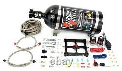 Nitrous Outlet 4500 Stinger Plate System (50-500hp) (5,7,10psi) (10LB Bottle)