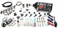 Nitrous Outlet EFI Motorcycle Four Cylinder Nozzle System(2.5lb Bottle)