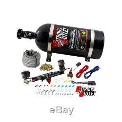 Nitrous Outlet Gen 4 4150 Stinger System with Boomerang Bracket (15LB Bottle)