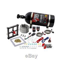 Nitrous Outlet Gen 4 4500 Stinger Braided Hose System (15LB Bottle)