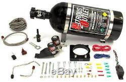 Nitrous Outlet Mopar 85mm 6.4L Hemi Hardline Plate System (No Bottle)