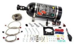 Nitrous Outlet Mopar 85mm 6.4L Hemi Plate System (10lb Bottle)