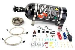 Nitrous Outlet Universal Dry Dual Nozzle System (10lb Bottle)