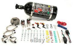 Nitrous Outlet Universal Dual Stage Dry Dual Nozzle System (10lb Bottle)