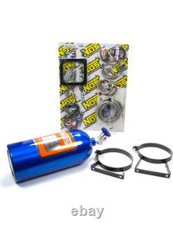 Nitrous Oxide Systems NOS Big Shot, Wet, 190-300 hp, 10 lb. Bottle, (02111NOS)
