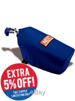 Nitrous Oxide Systems NOS Bottle Blanket, Nylon, Blue, Nos Logo, Fit (14165NOS)