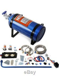 Nitrous Oxide Systems NOS EFI, Wet, 100-150 hp, 10 lb. Bottle, Blue, (05151NOS)