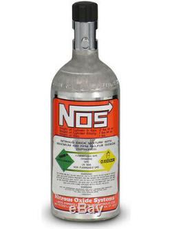 Nitrous Oxide Systems NOS Nitrous Bottle, 1 Lb, Aluminum, Each (14705NOS)