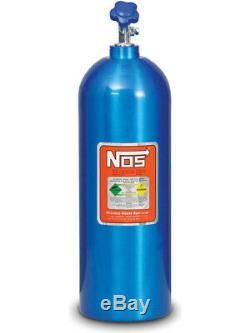 Nitrous Oxide Systems NOS Nitrous Bottle 20-Lb, (Electric, Blue) 27 (14760NOS)