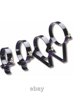 Nitrous Oxide Systems NOS Nitrous Bottle Brackets, Steel, Black Powd (14125NOS)