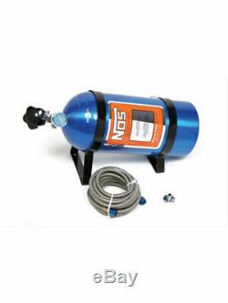 Nitrous Oxide Systems NOS Nitrous Bottle Kit Incl. Electric Blue Fi (14761NOS)