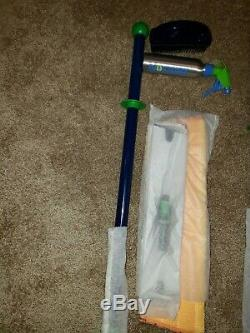 Norwex Superior LARGE Mop Starter System, All New Rubber Brush, Spray Bottle