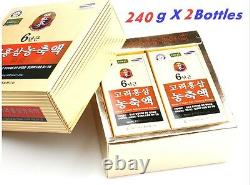 Pure 100% Korean 6 Years Red Ginseng Extract 240g 2Bottle (480g) Anti-Aging