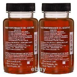 REV-X Stiction Fix Oil Treatment Four 4 fl. Oz. Bottles Great for HPOP Systems