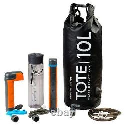 Renovo MUV Eclipse Water Filter System (pump, gravity bag, and water bottle)