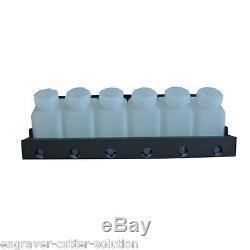 Roland Bulk Ink System with Vertical Cartridges - 6 Bottles, 12 Cartridges