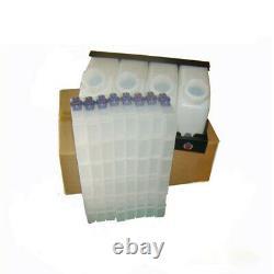 Roland RA-640 Bulk Ink System with Vertical Cartridges-4 Bottles, 8 Cartridges