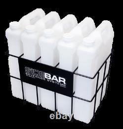 SIDEBAR Beverage Systems HIGH Capacity Storage Bottles / Rack 25 Liter