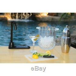 SIDEBAR Electric Liquor & Beverage Dispenser System Black Spout & Base