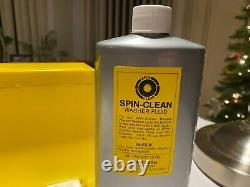 SPIN CLEAN Vinyl Record Cleaning System NEW withLARGE 16oz Bottle of Fluid NEW