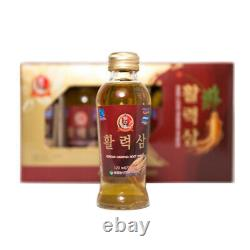 Sammahol Korean Red Ginseng Vitality Drink (Root Drink) 120ml x 10 Bottles Korea