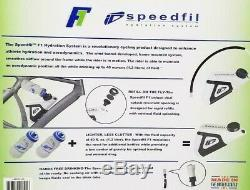 Speedfil F1 Bicycle Water Bottle, Hands-Free Frame Mounted Hydration System