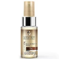 System Professional Luxe Oil Reconstructive Elixir 30ml #4492 NEW SCUFFED BOTTLE