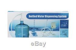 TDRFORCE Bottled Water Dispensing Pump System with Single Inlet 120v AC US for 5